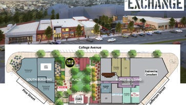 Chicken and waffles restaurant, pop-up floral shop join The Exchange