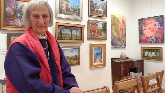 "Artist Deirdre Dyson displays ""A World of Light & Color"" at the Art House II Gallery in Loveland through April 15"