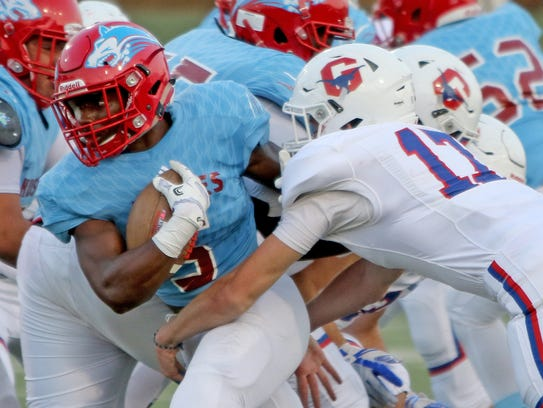 Hirschi's Daimarqua Foster tied a school record Friday,