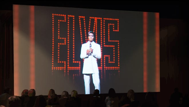 """Theater at upcoming """"Graceland Presents Elvis: The Exhibition - The Show - The Experience"""" in Las Vegas."""