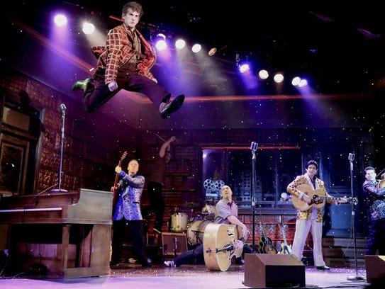 Rock legends get together for some high-flying fun