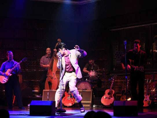 """The king of rock and roll shakes his hips in """"Million"""