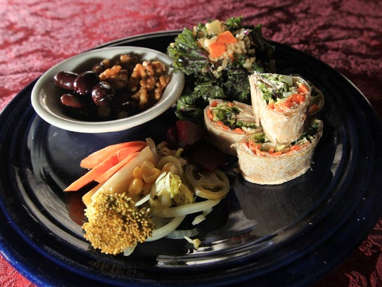 Trumpet Blossom Cafe's Mission Creek dish is pictured