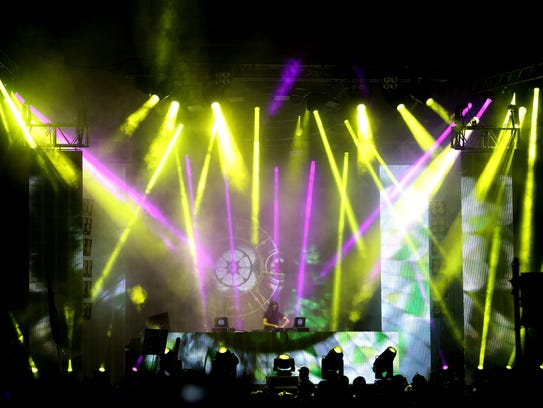 Bassnectar performs at the 2013 Voodoo Music + Arts
