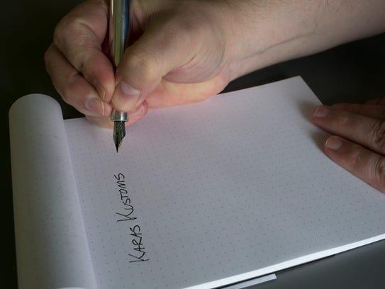 Karas Kustoms sells eight different styles of pens,
