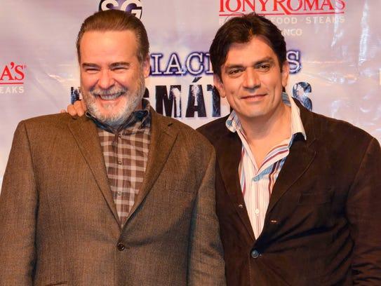 Salinas regresa al teatro al lado de César Évora.