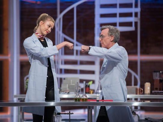 Supermodel Karlie Kloss is a regular on 'Bill Nye Saves