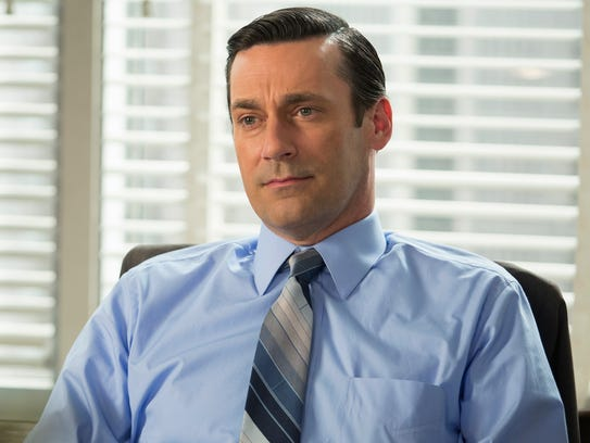Jon Hamm as Don Draper in a scene from the final season
