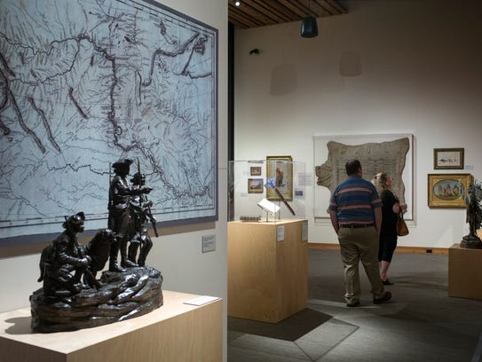 A Visual Journey through the Early American West exhibit,