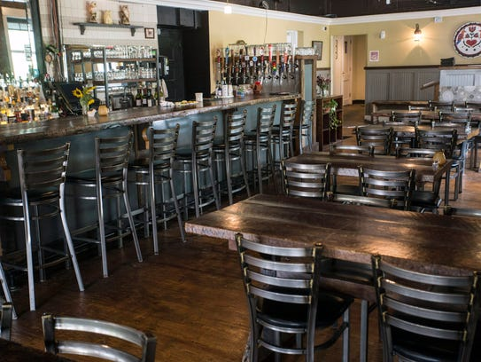 A large interior at Eiderdown provides plenty of table