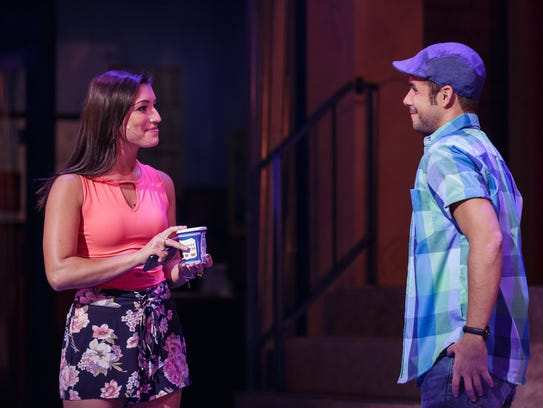Chiara Trentalange and Xavier Cano in 'In the Heights.'
