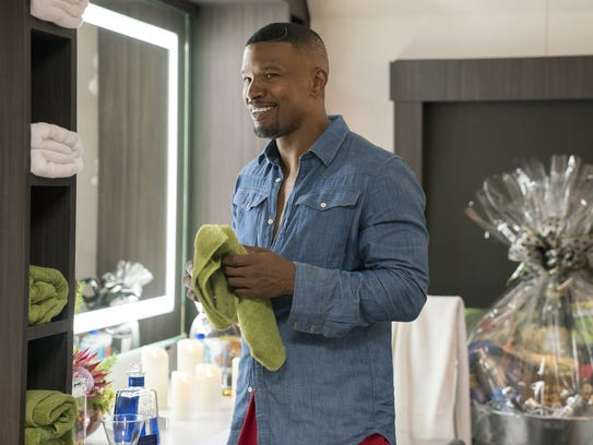 Jamie Foxx as himself in 'White Famous.'