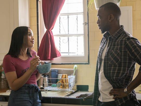 Cleopatra Coleman as Sadie and Jay Pharoah as Floyd