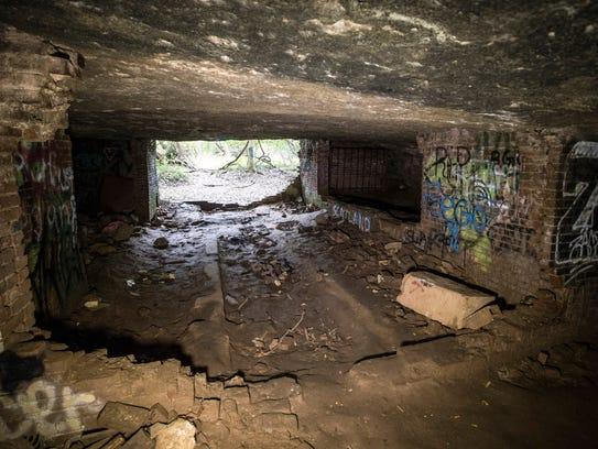 Sauerkraut Cave in Tom Sawyer Park lies not far from