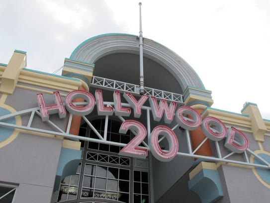 Hollywood 20 movie theater off Naples Boulevard in
