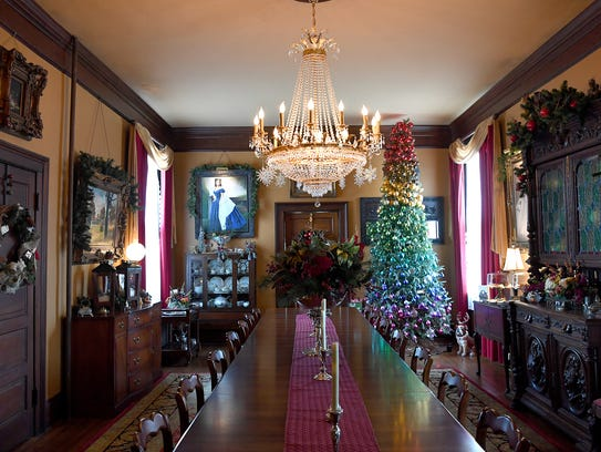 The Reynolds Mansion Bed and Breakfast Inn boasts the