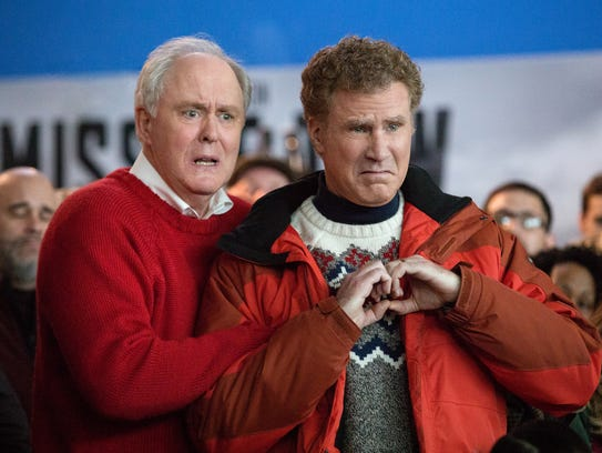 John Lithgow's Don Whitaker gives big love to his son Brad (Will Ferrell) in 'Daddy's Home 2.'