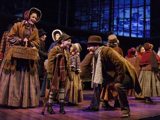 The Cast of Geva Theatre Center's 'A Christmas Carol.'