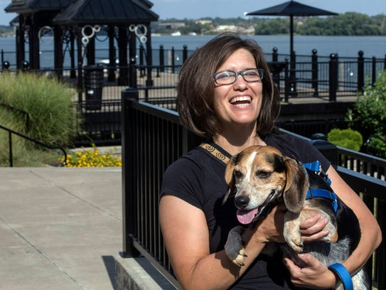 For Denise Greer, happiness is a walk along the scenic