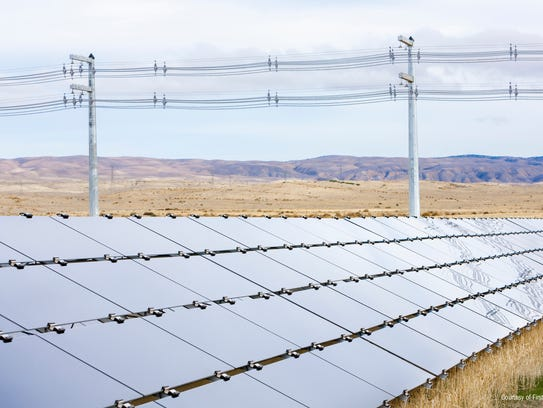First Solar plans to build a solar plant in Arlington