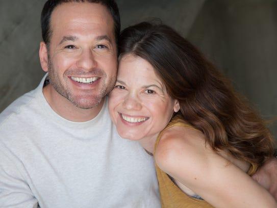 Danielle and Josh Sternlicht originally met doing plays at Clarkstown North High School.
