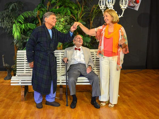 "The Marco Players' production of ""A Bench in the Sun"""
