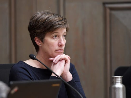 Asheville City Councilwoman Julie Mayfield.