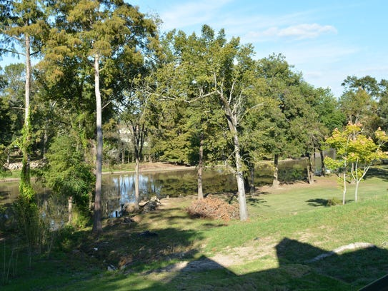 The home has amazing views of the Vermilion River.