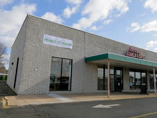 Exterior of Pearle Vision, a Freehold-based, independently-owned