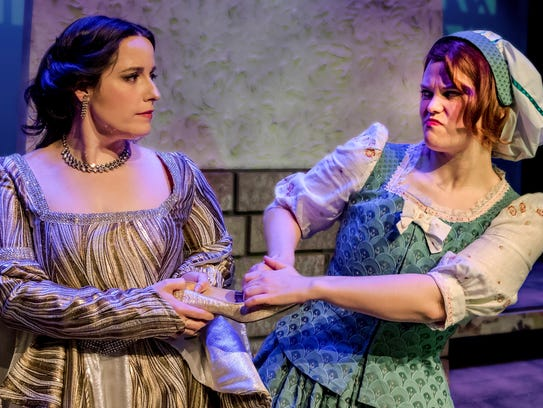 Cinderella (Celeste Blanch) and the Baker's Wife (Wendy