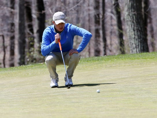 Ranney's Ryan Pongrac completes in the Shore Conference