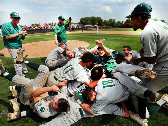 South Plainfield celebrates after defeating Perth Amboy