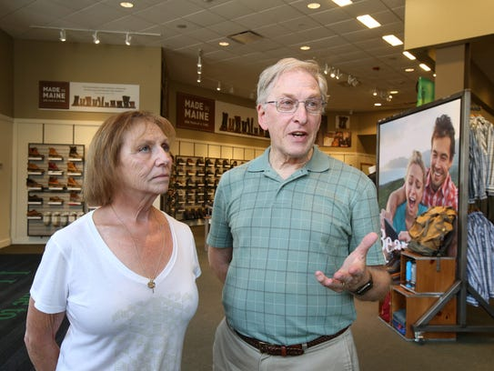 Diane and Dan Raisch of Toms River talk about their
