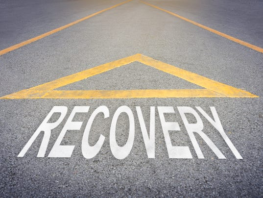 Recover direction on rough road.