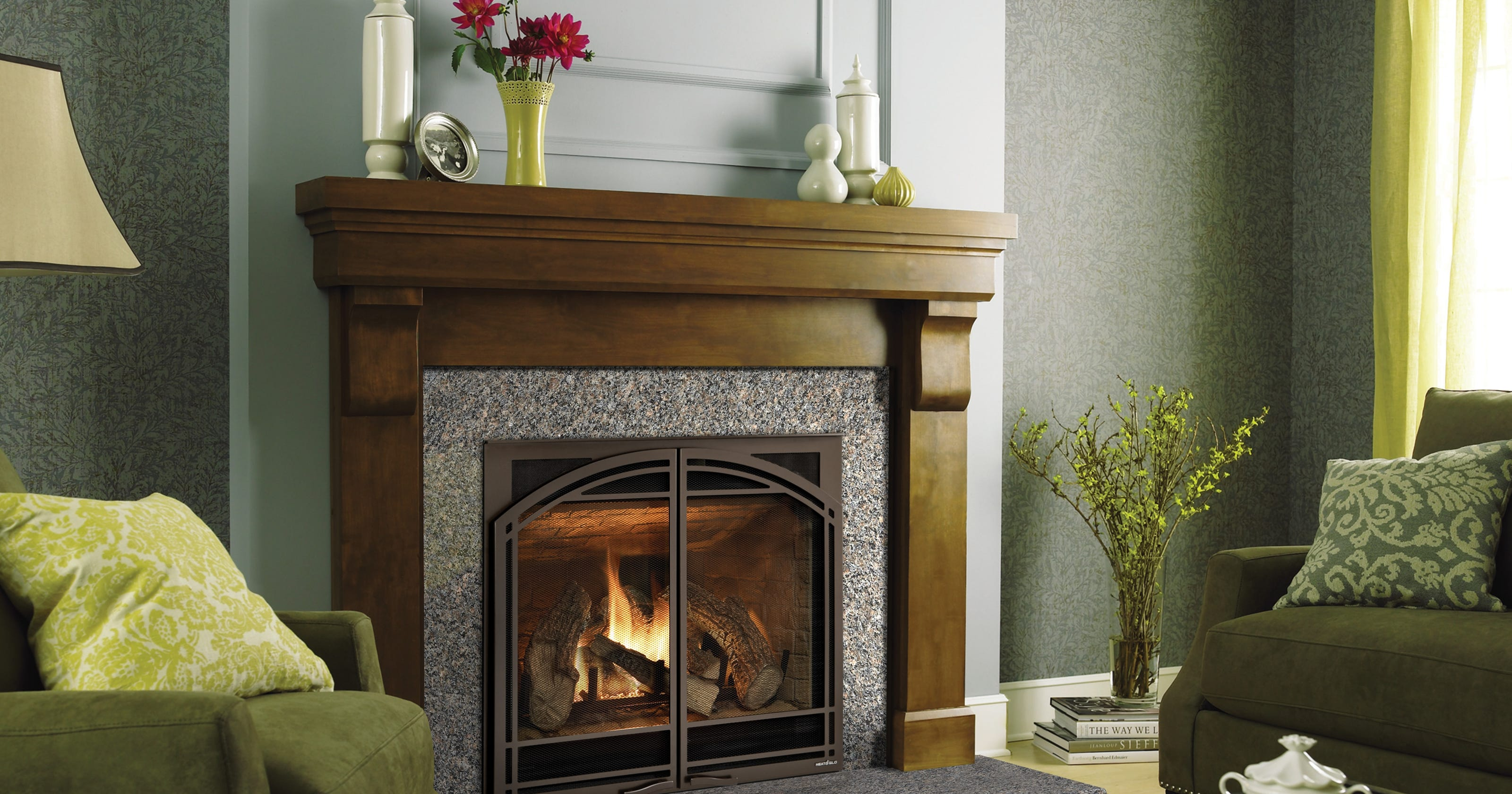 gas fireplaces to get screens to prevent burns