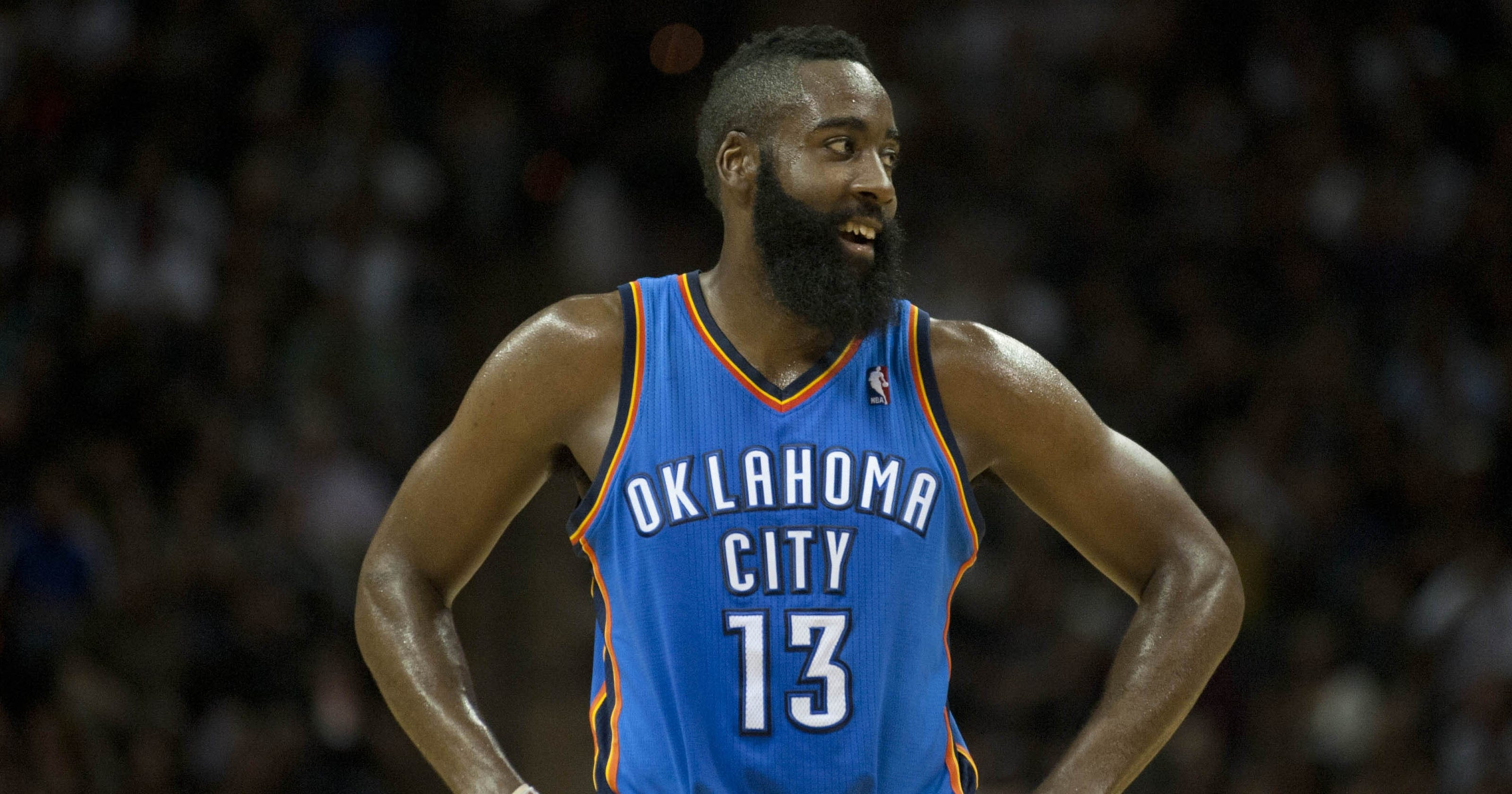 Thunder trade james harden to rockets nba players react on twitter