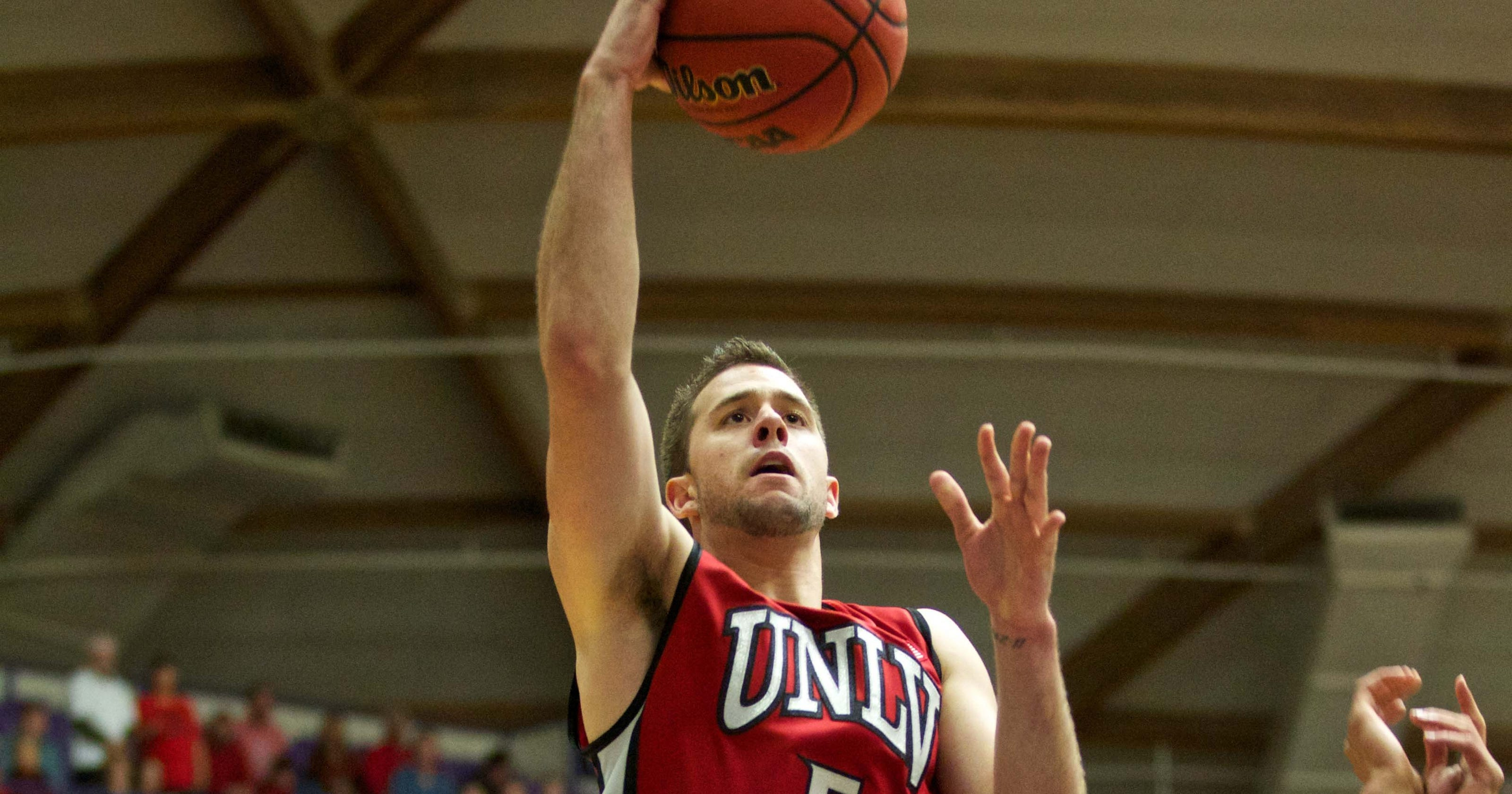 Portland ultimately can't keep up with No. 18 UNLV