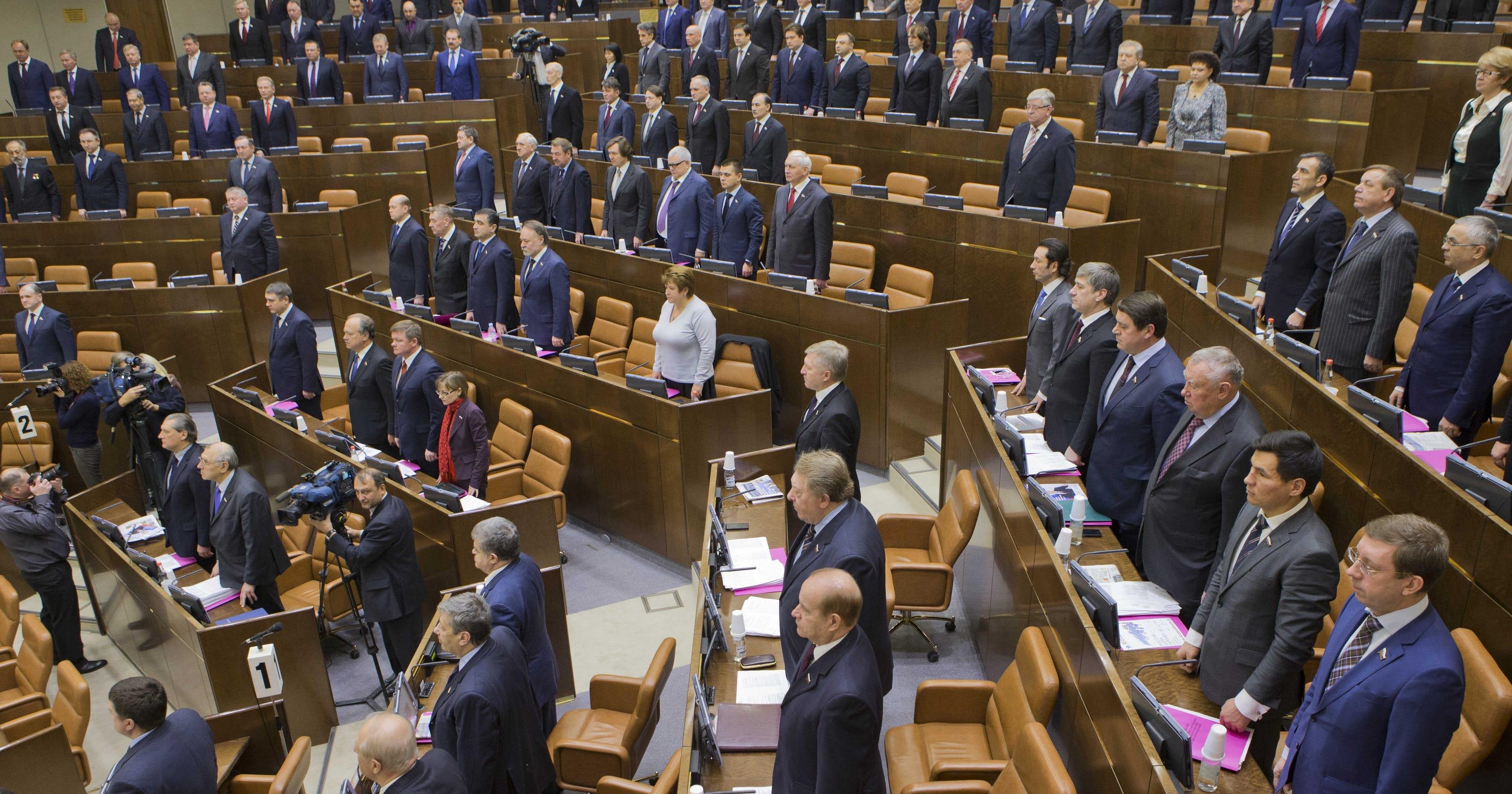Russian Parliament Approves Anti U S Adoption Bill