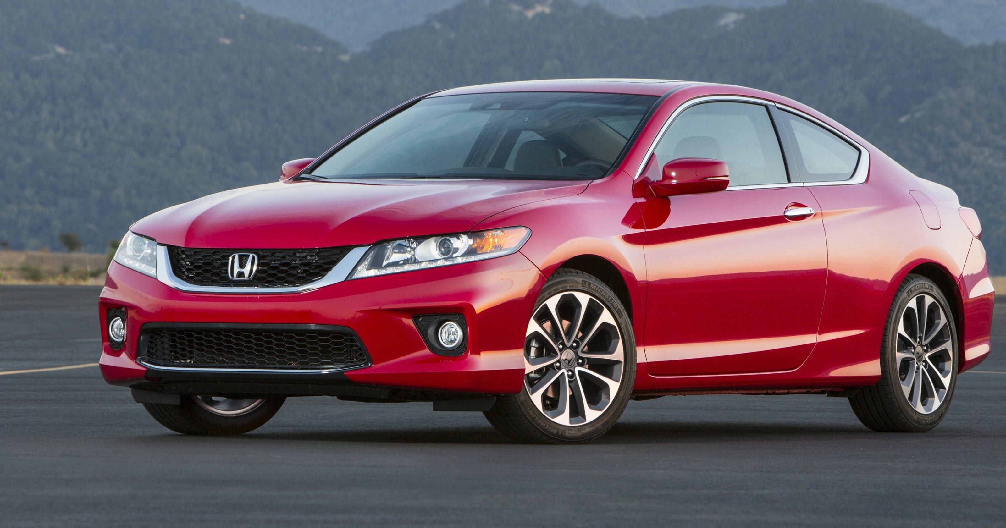 Test Drive V 6 Honda Accord Coupe Seduces