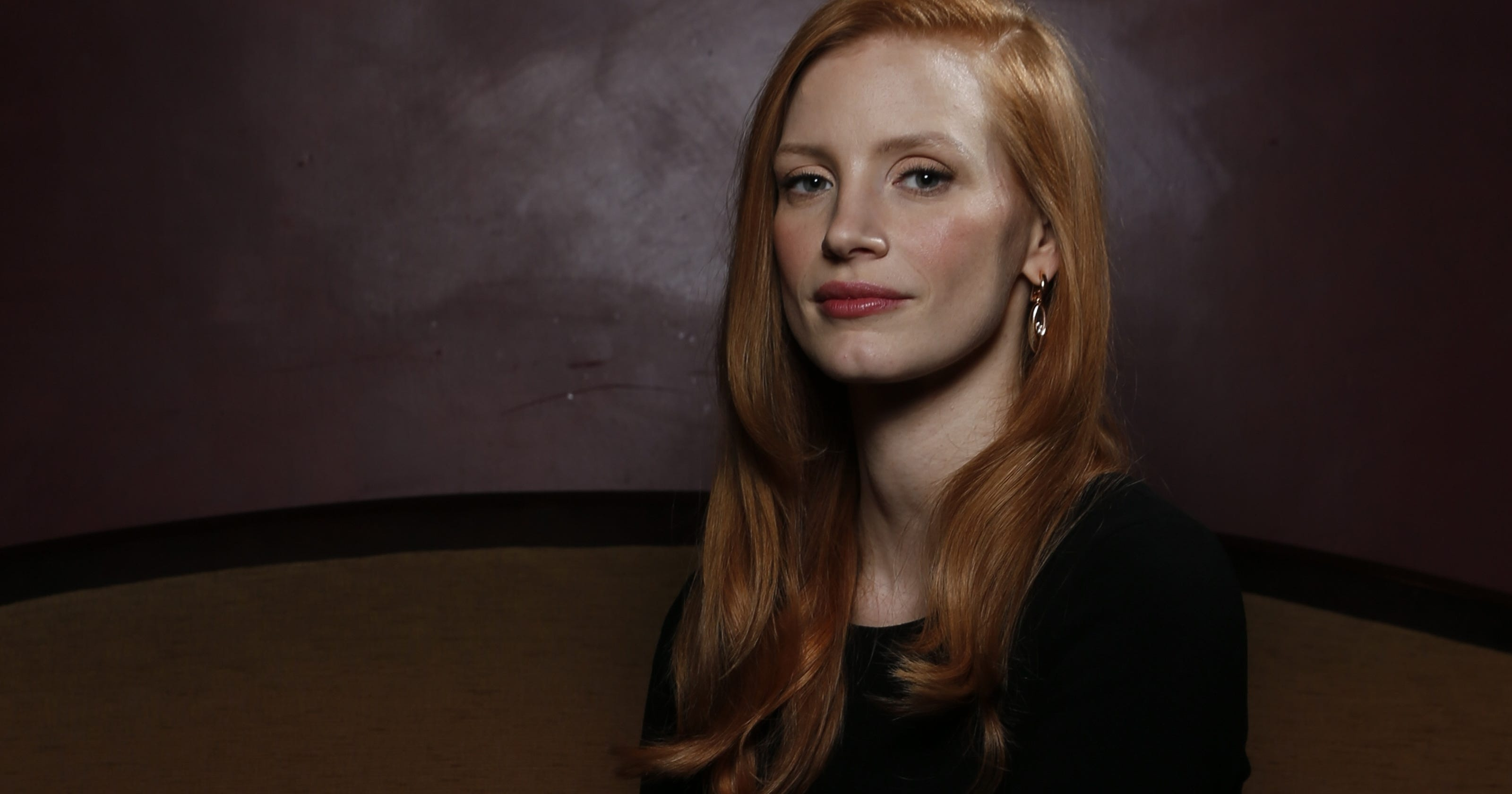 Jessica Chastain is on the clock Jessica Chastain