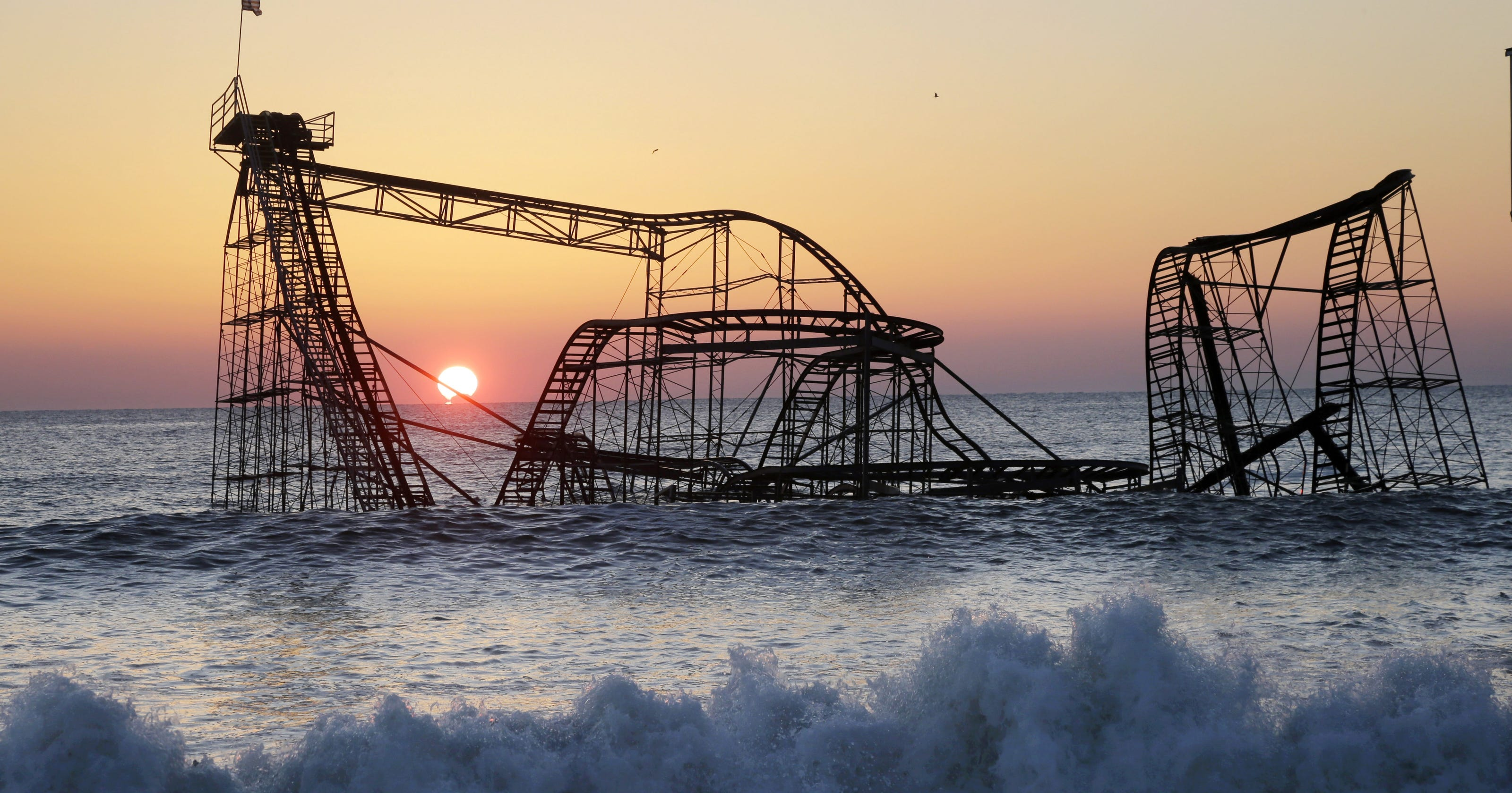 Roller Coaster In Ocean Since Sandy Will Be Removed
