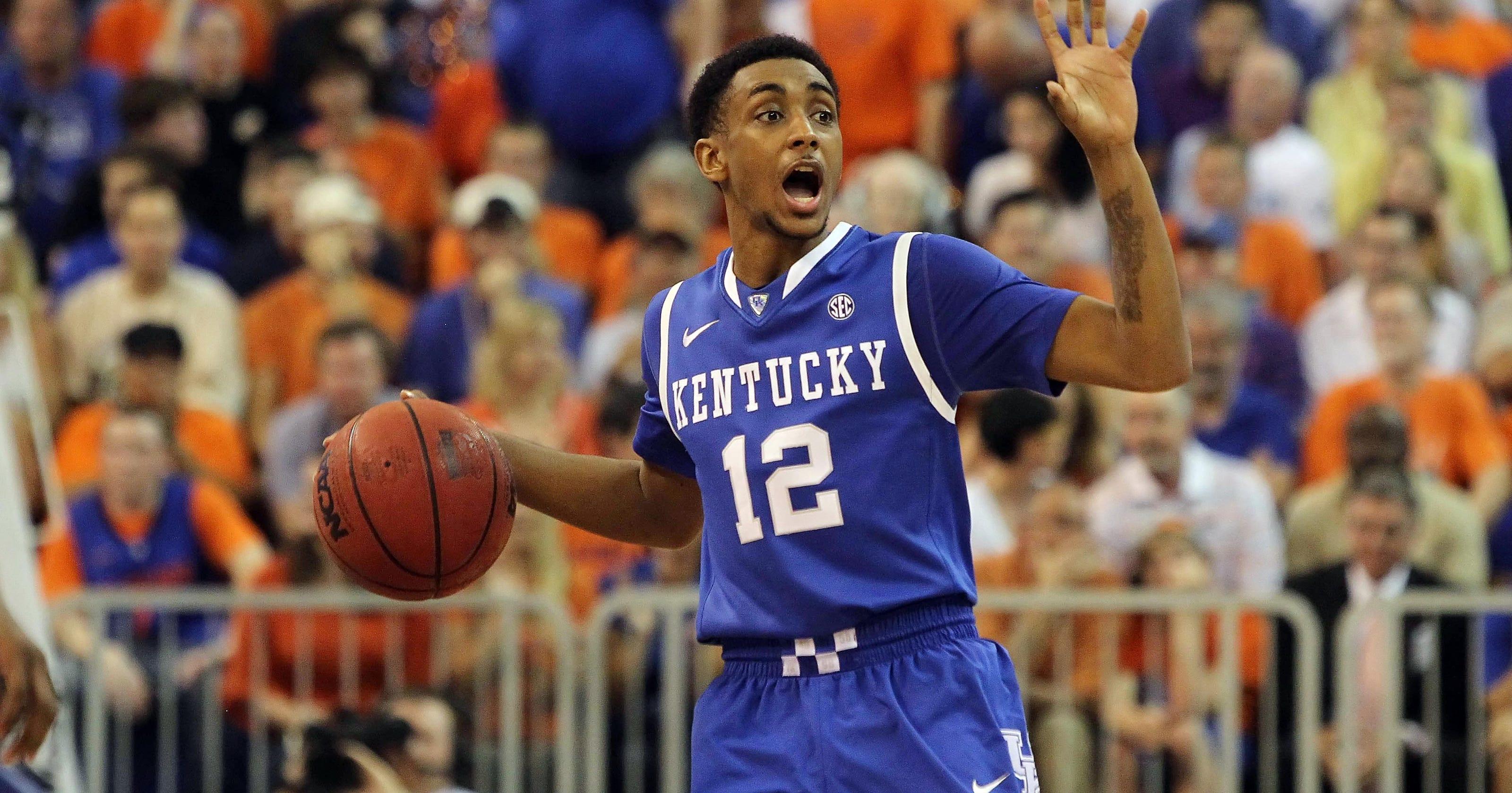 Kentucky Basketball Wildcats Have Two Usa Today: Kentucky's Ryan Harrow Plans Transfer To Georgia State