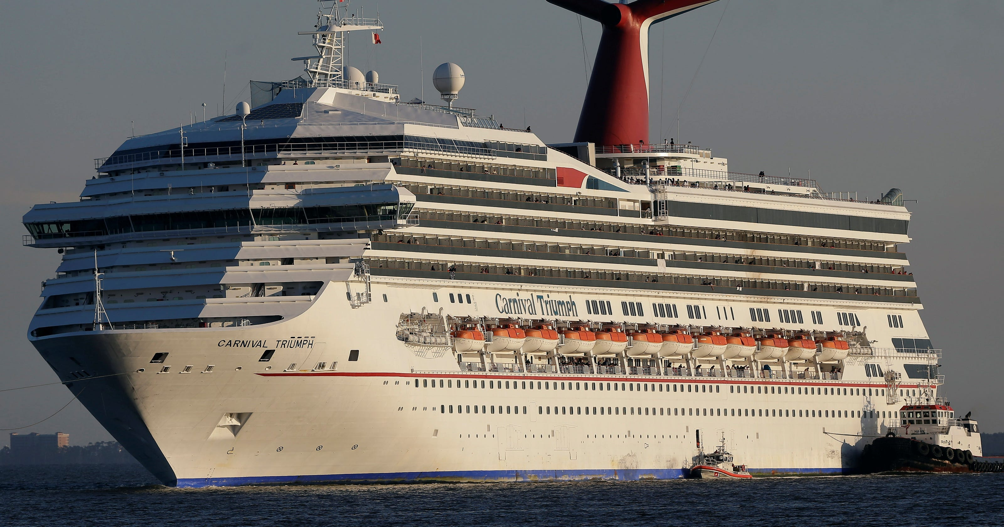 Carnival Triumph Returns To Service