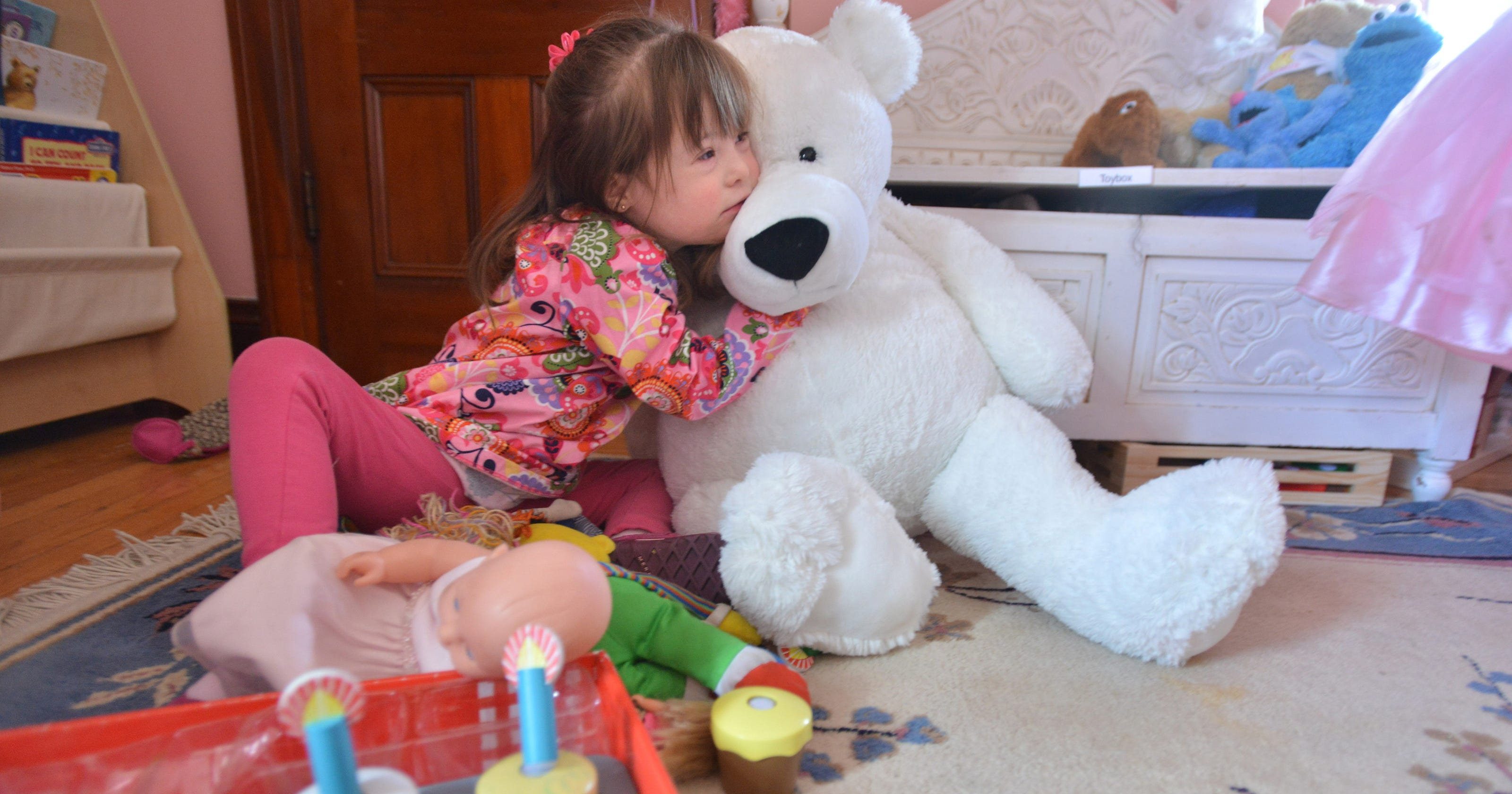 With Down syndrome diagnoses es a wrenching choice