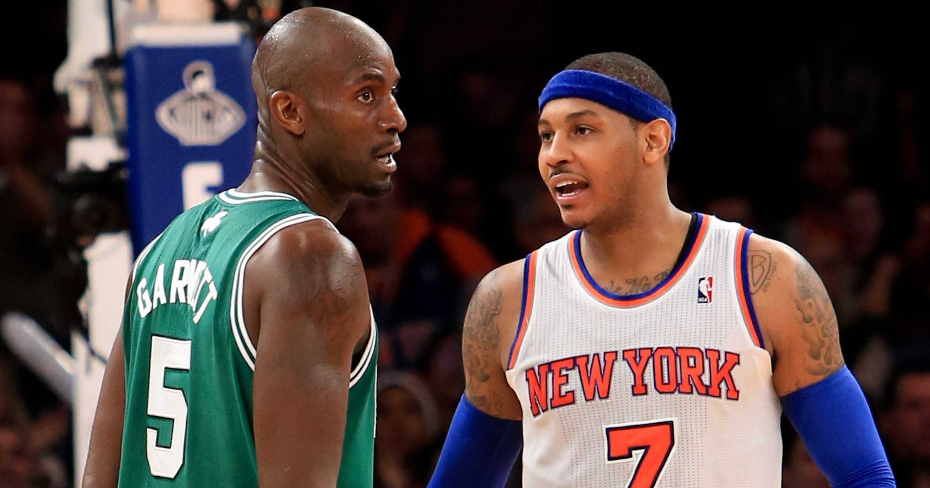 Knicks-Celtics and not much else for East matchups
