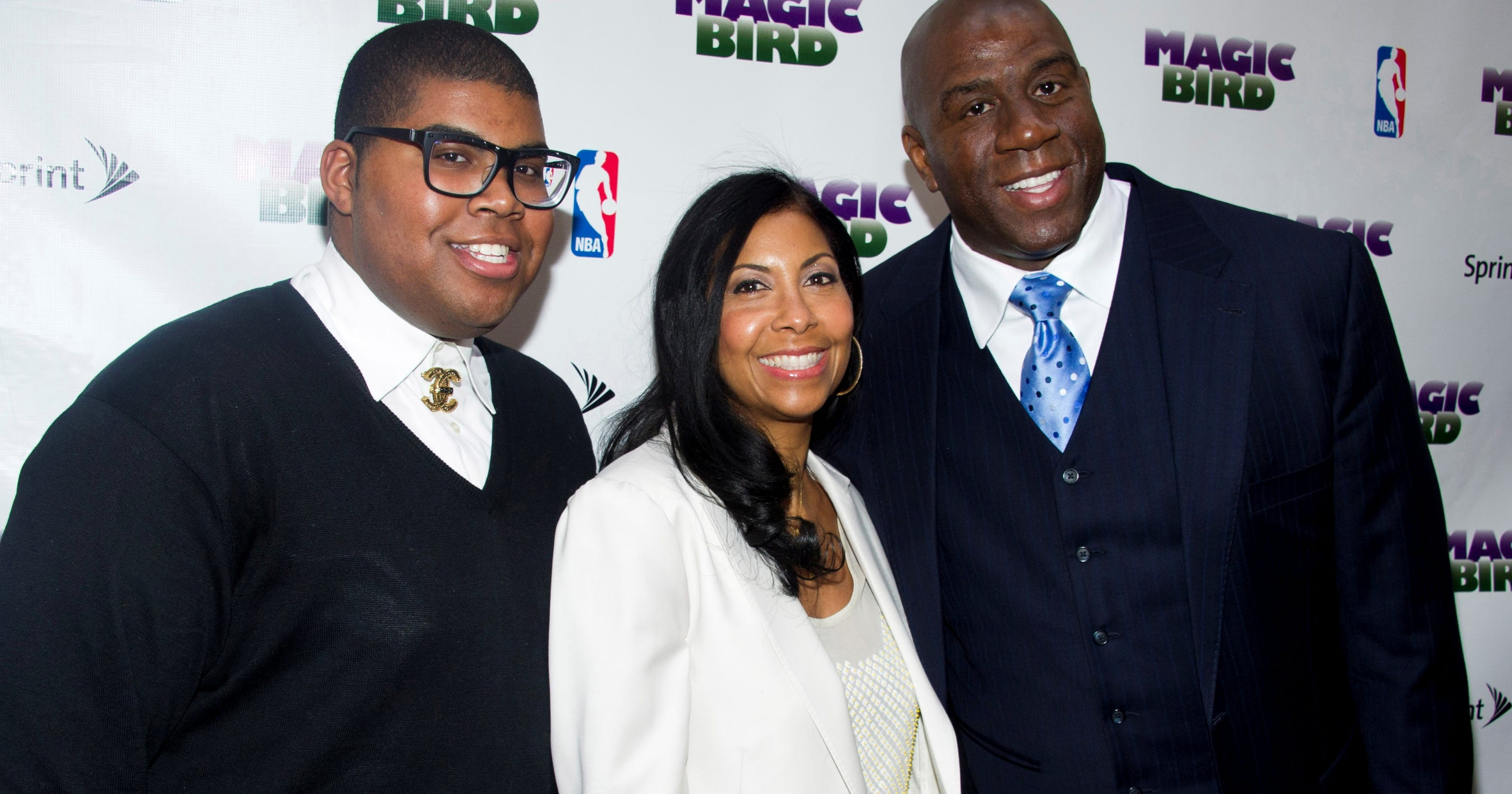 Tall City Delivery >> Magic's son says his family is supportive