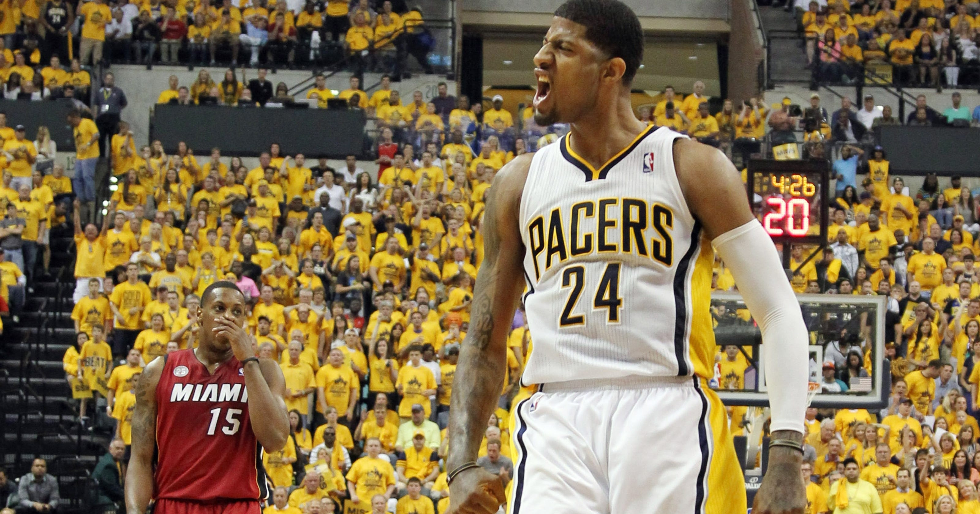 Paul George gets MVP hype as Pacers-Heat hits Game 7