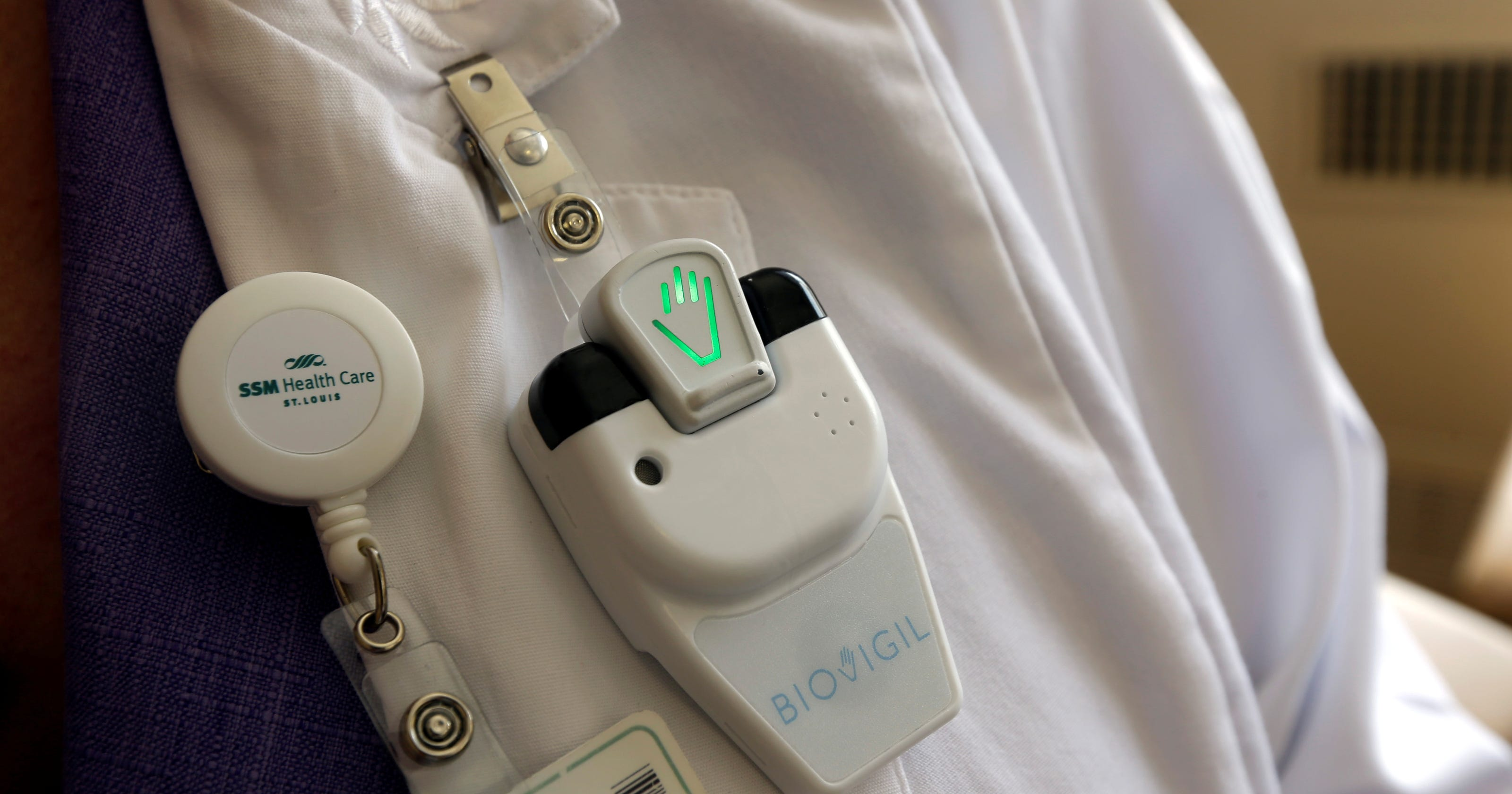 Hospitals Seek High Tech Help For Hand Hygiene