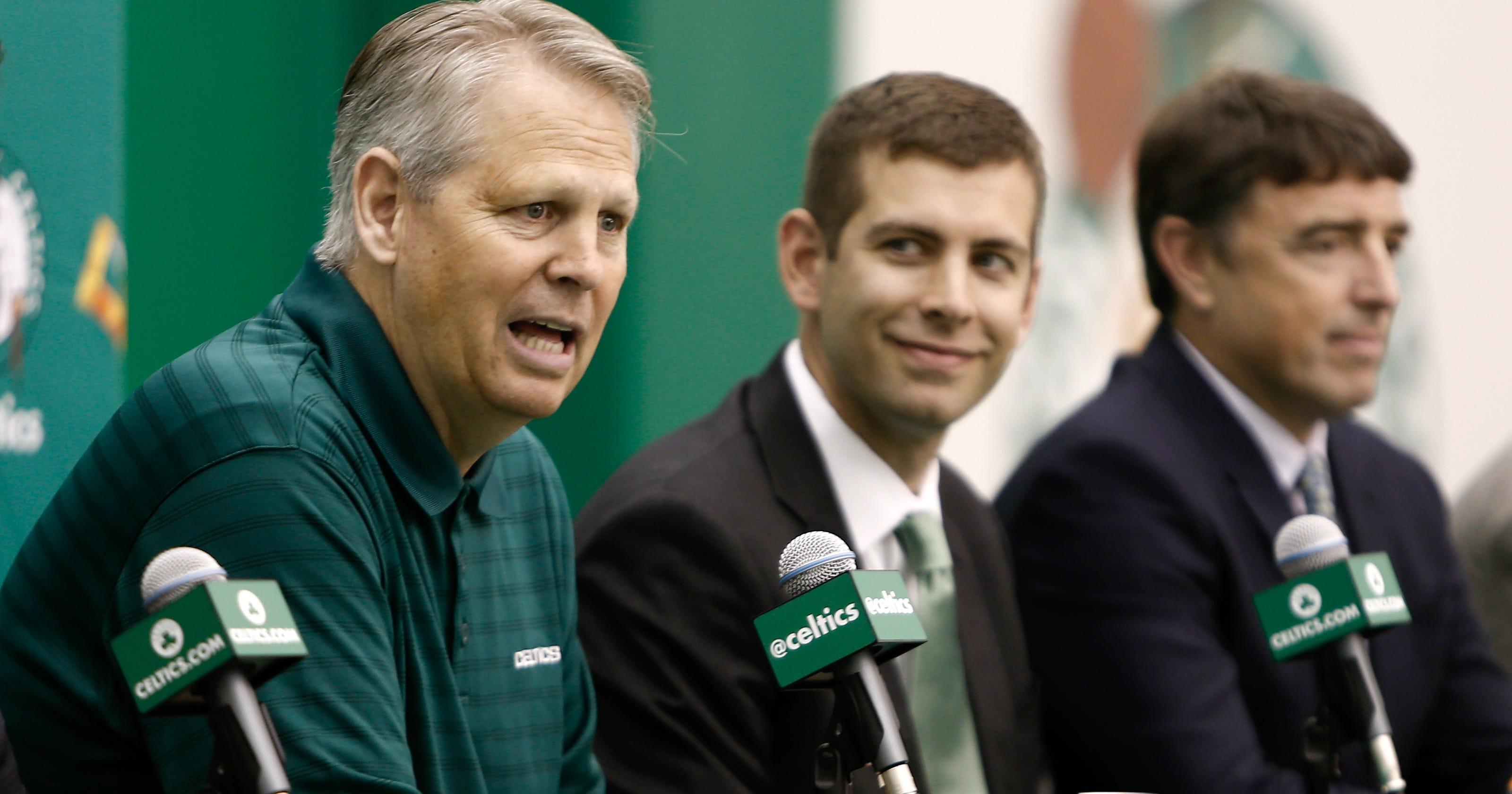 Danny Ainge: Celtics won't tank to help lottery odds