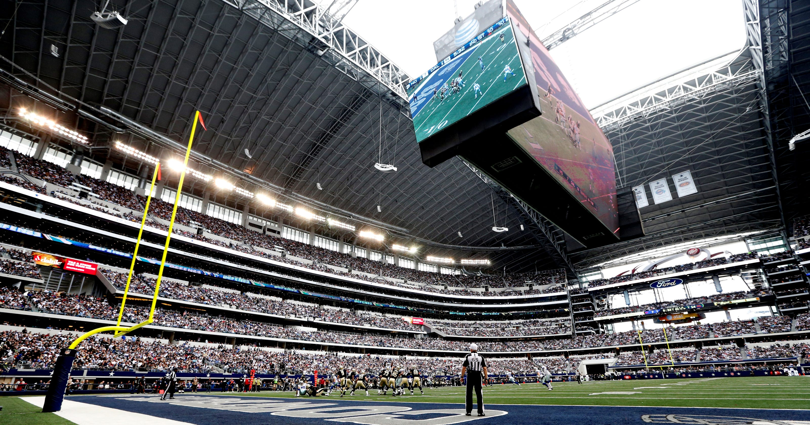cowboys stadium to be renamed atampt stadium